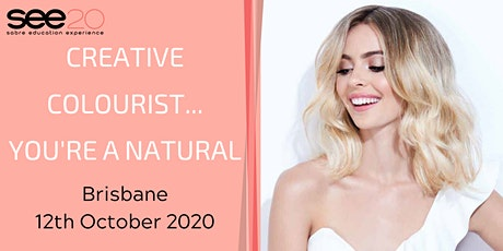 Creative Colourist... You're a Natural - BRISBANE tickets