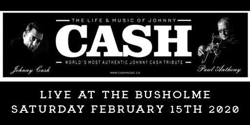 Johnny Cash Tribute Featuring Paul Anthony Matinee