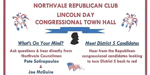 Northvale Republican Club Lincoln Day Congressional Forum