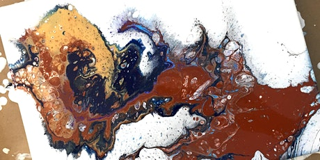 Acrylic Pouring Workshop - Abstract Painting - Artist's Studio - Oakville tickets