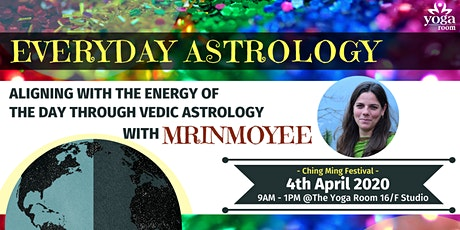 Aligning with the Energy of the day through Vedic Astrology with Mrinmoyee tickets