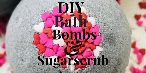 DIY Bath Bomb & Sugar Scrub Class