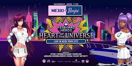 Nerd & Boujee feat. Pegboard Nerds & Otakus With Attitude: Cosplay Cruise tickets
