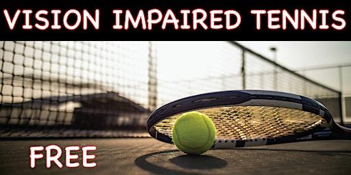 Vision Impaired Tennis
