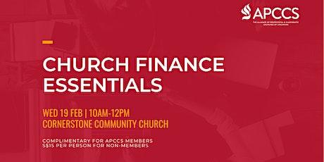 CHURCH FINANCE ESSENTIALS tickets