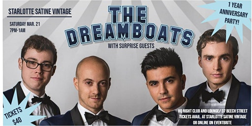 The Dreamboats Live/ Starlotte Satine Vintage's 1 Year Anniversary Party