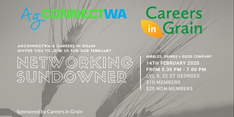 AgConnectWA & Careers in Grain February Networking Sundowner tickets