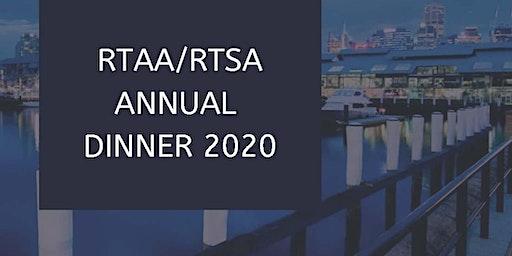 RTAA/RTSA Annual Dinner 2020