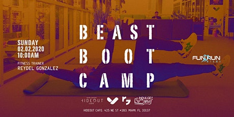 Fun Run Miami - Beast Boot Camp - February 2020 tickets