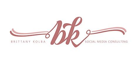 Social Media 101 by Brittany Kolba - SUNDAY SESSION tickets