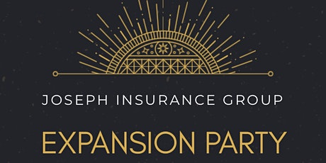 Joseph Insurance Group Expansion Party tickets