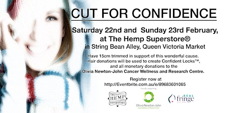 'Cut for Confidence' The Hemp Superstore®️and Real Hair Fringe Bands tickets