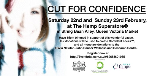 'Cut for Confidence' The Hemp Superstore®️and Real Hair Fringe Bands