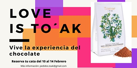 LOVE IS TO`AK entradas