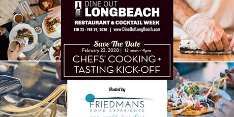 Chefs' Cooking + Tasting Kick-Off | DIne Out Long Beach tickets