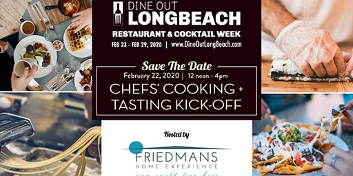 Chefs' Cooking + Tasting Kick-Off | DIne Out Long Beach