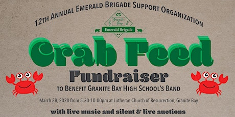 12th Annual EBSO Crab Feed Fundraiser to Benefit Granite Bay High School's Band tickets
