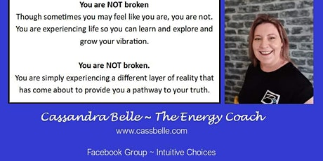 Bursting the Anxiety Bubble with Cassandra Belle tickets