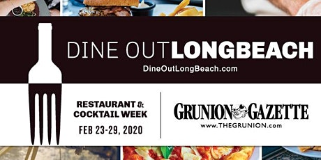 Dine Out Long Beach, Restaurant & Cocktail Week tickets