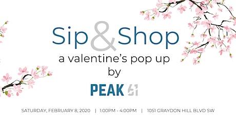 Sip & Shop at Peak 61 tickets