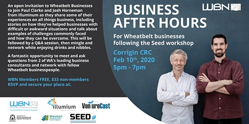 Business After Hours with Paul Clarke and Josh Horneman
