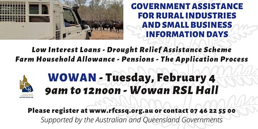 Wowan Government Assistance Information Day