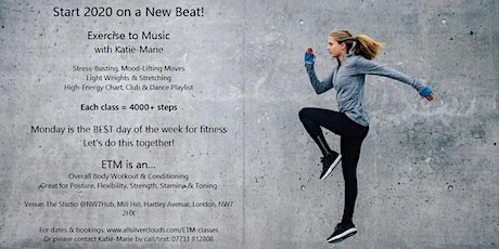 Start 2020 on a New Beat! Exercise to Music with Katie-Marie tickets