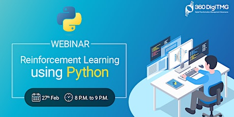 Free Webinar on Reinforcement learning using python tickets