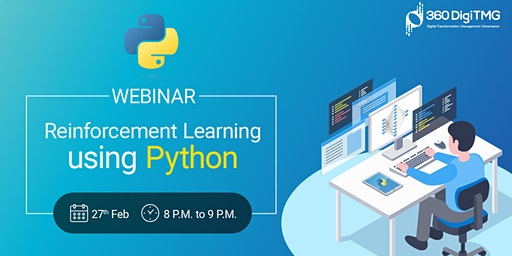 Free Webinar on Reinforcement learning using python