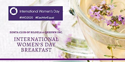 International Women's Day Breakfast - Hosted by Zonta Club Biloela & QRRRWN