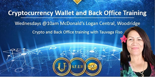 Cryptocurrency Wallet and Back Office Training LOGANLEA