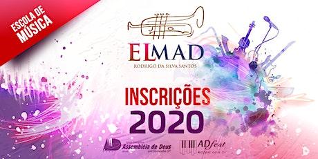 INSCRIÇÕES - ELMAD 2020 tickets
