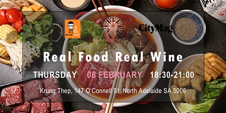 Real Food Real Wine Vol. 7 - Krung Thep Thai Restaurant tickets