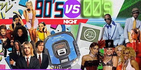 90s vs 00s Night tickets