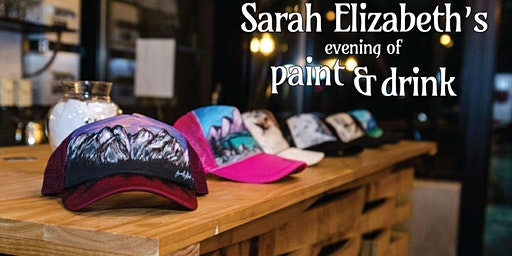 Paint & Drink: Paint Your Own Trucker Hat!