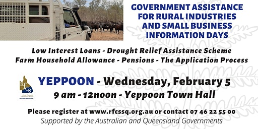 Yeppoon Government Assistance Information Day