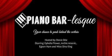 Piano Bar-lesque tickets