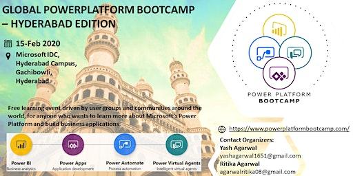 Global Power Platform Bootcamp - Hyderabad Edition