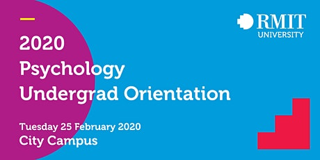 2020 RMIT Psychology General Orientation Session tickets