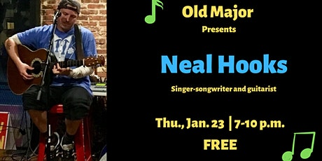 Neal Hooks Performs at Old Major tickets