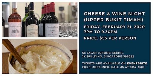 Cheese & Wine Night (Upper Bukit Timah) - 21 February