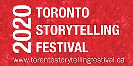 Festival Pass - 2020 Toronto Storytelling Festival tickets