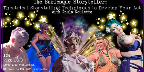 The Burlesque Storyteller: Using Theatrical Storytelling Techniques  tickets
