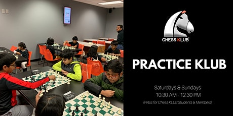 Free Chess Practice  Sessions - at Chess KLUB tickets