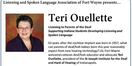 LSL of Fort Wayne presents Teri Ouellette tickets