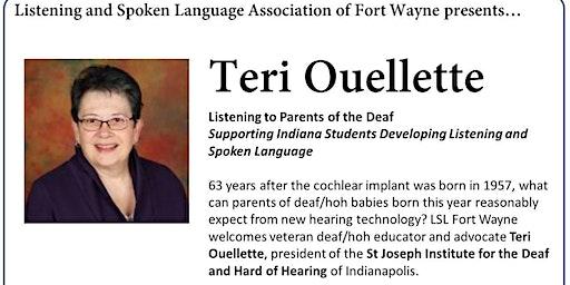 LSL of Fort Wayne presents Teri Ouellette