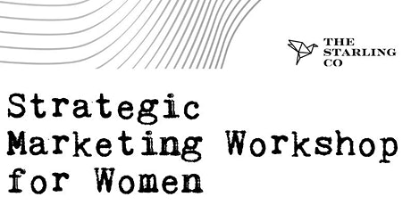 Workshop de Marketing Estratégico para Mujeres entradas
