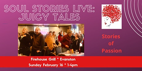 Soul Stories Live: JUICY TALES tickets