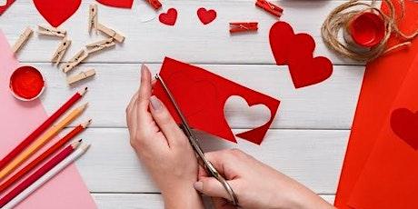 Celebrating Love - Make your Own Valentine tickets