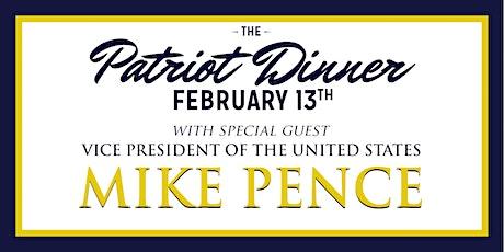 2020 Patriot Dinner tickets